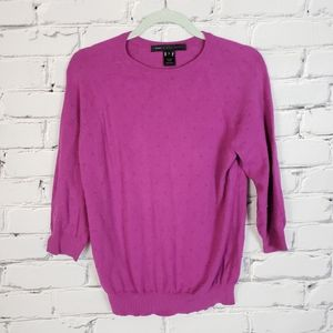 Marc by Marc Jacobs Purple Knit Sweater